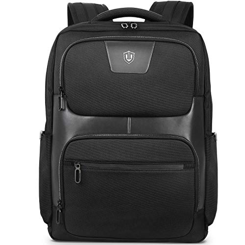 SHIELDON Business Laptop Backpack 15.6 Inch, Anti-theft Travel Computer Backpack with RFID Blocking Pocket, Water Repellent Daypack Laptop Bag for Work/College/Men/Women, 23L, Black