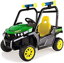TOMY John Deere Gator Ride On Toy Car For Kids With Detachable Water Squirter, Green