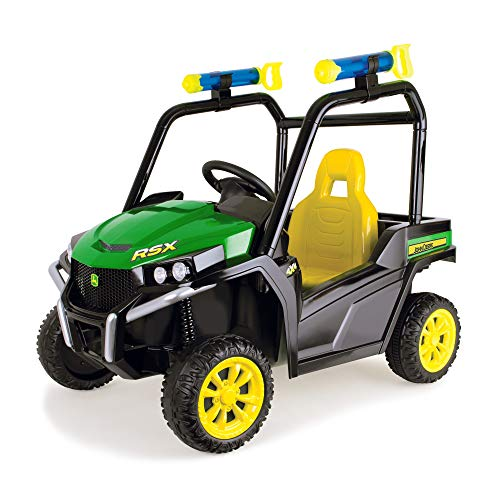 John Deere Boys' Battery Operated Gator Green One Size