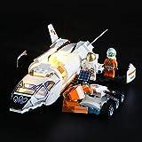 BRIKSMAX Kit de LED pour Lego City La Navette Spatiale,Compatible avec la Maquette Lego 60226, La Maquette de Construction n'est Pas Incluse