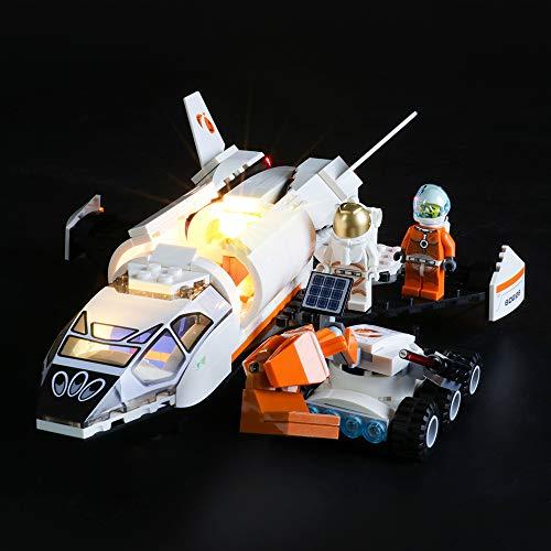 BRIKSMAX Led Beleuchtungsset für Lego City Mars Forschungsshuttle,Kompatibel Mit Lego 60226 Bausteinen Modell - Ohne Lego Set
