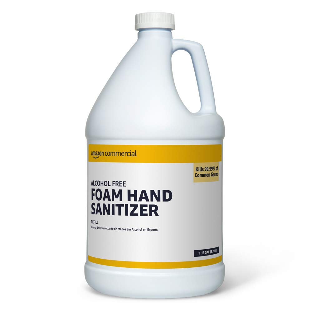 AmazonCommercial Alcohol Clearance SALE Limited time Max 53% OFF Free Foam Sanitizer Hand Refill 1-Gall