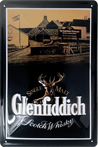 Glenfiddich Blechschild