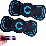 2021 New Electric Breast Massage Pad, 2PCS Breast Enhancer Massager, Reactivate EMS Electric Pad, Rechargeable 10 Modes Chest Frequency Massager Bra Booster Growth Stimulator