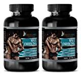 libido max Men - Male Enhancing Pills - Saw Palmetto and zinc - 2 Bottle (120 Tablets)