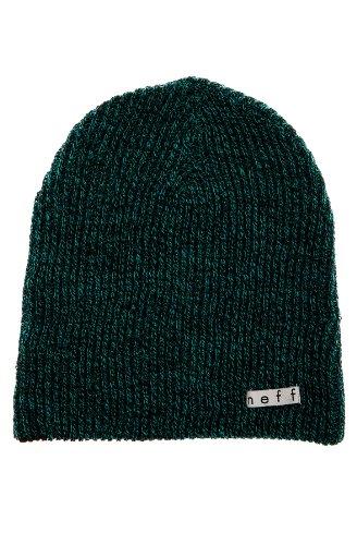 Neff Daily Reversible Bonnet Black Green Heather /