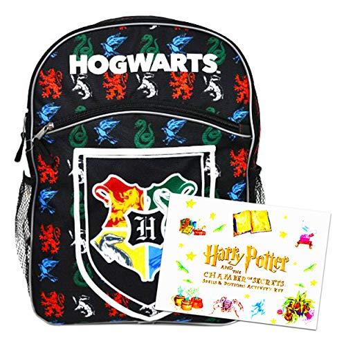 "Harry Potter Backpack for Kids Bundle ~ Premium 16"" Harry Potter School Bag with Harry Potter Magical Science Kit (Harry Potter School Supplies)"