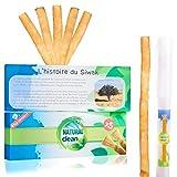Pack Siwak x5 Premium Natural Clean - Brosse A Dents Naturelle Réutilisable - BIO -...