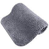 Elcoho Machine Washable Doormat Thicken Soft Non-slip Barrier Door Mat for Living Room