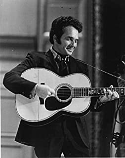 Historical Photo Collection 8 x 10 Photo Merle Haggard Young On High Qquality Fiji Film Paper