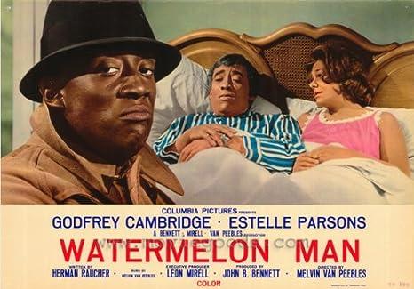 Amazon.com: Watermelon Man Poster D 27x40 Godfrey Cambridge Erin Moran  Estelle Parsons: Prints: Posters & Prints