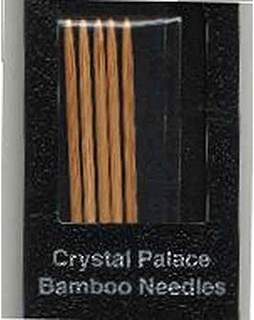 Crystal Palace Double Point Bamboo Needles New In Box 5 Sets Per Box