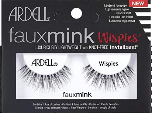 Ardell Faux Mink Glamouröse Wimpern, Modell Wispies, künstliche Wimpern, 25g