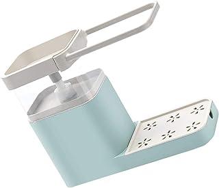 Wand Spülbecken Schwammhalter Dusche Schwammablage Edelstahl Handtuchhalter