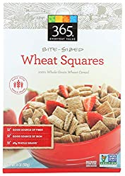 365 Everyday Value, Wheat Squares, Bite Sized, 14 oz