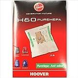 4 SACCHI SACCHETTI ASPIRAPOLVERE HOOVER PURE POWER ORIGINALE H 60 MICROFIBRA