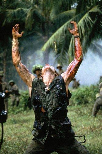Poster Platoon Willem Dafoe Classic Shot In Dschungel, 60 x 91 cm