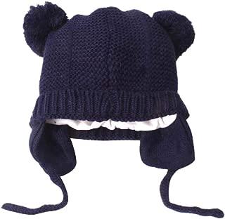 Longay Cute Toddler Kids Girl&Boy Baby Infant Winter Warm Crochet Knit Hat Beanie Cap (Navy)
