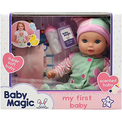 """Baby Magic My First Baby (6677), 12"""" Super Soft Body Baby Doll and Accessories. Age 2+"""