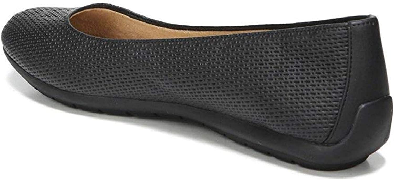 Naturalizer Women's UNA Flat shoes, Black