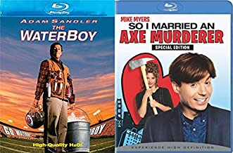 So I Married an Axe Murderer Blu Ray + The Waterboy Comedy Double Feature Adam Sandler Bundle Movie Set