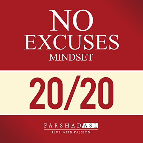 The No Excuses Mindset audiobook cover art