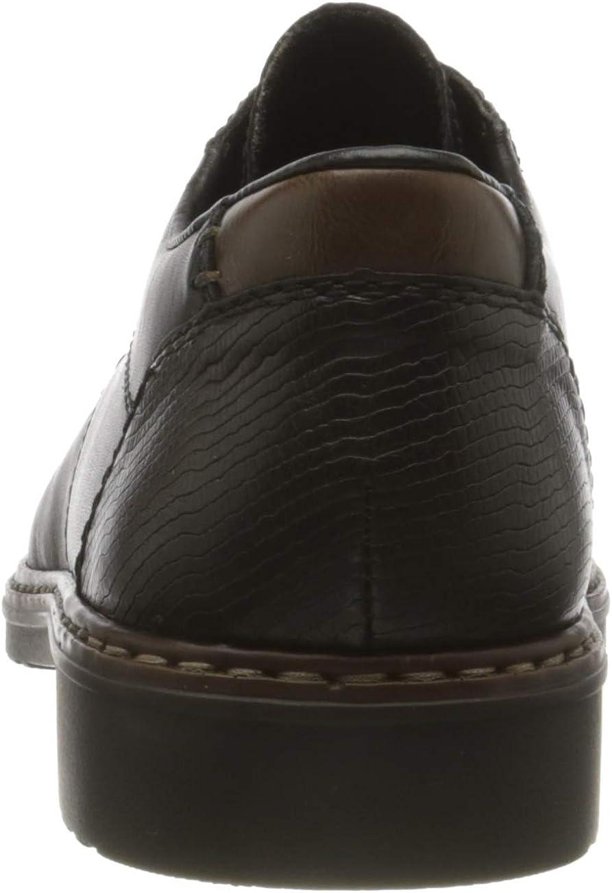 Rieker Men's Derby Lace-Up Oxford Flat