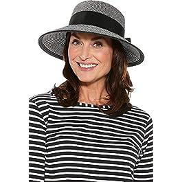 Coolibar UPF 50+ Women's Asymmetrical Clara Sun Hat –...