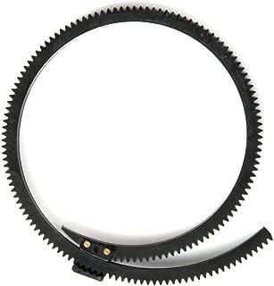 Fotga Flexible Gear Belt Ring for DP500 DP5002S DP500III JTZ DP30 Follow Focus FF Adjustable from 46mm to 110mm (Black)