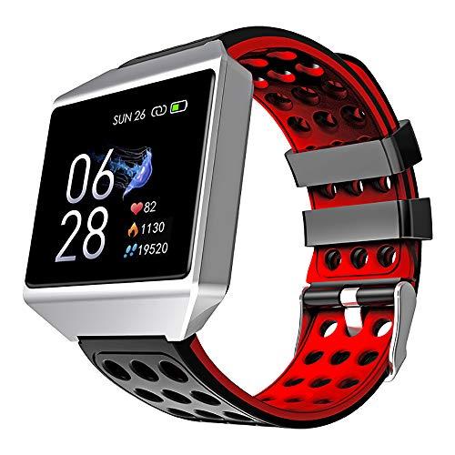HQHOME Pulsera Actividad Reloj Inteligente IP68 Fitness Tracker Podómetro Monitor de Sueño Contador de Calorías Pasos Rastreador de Ejercicios Reloj Salud Pulsera Deportiva para Mujeres Hombres