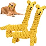 Hundespielzeu,Haustier Kauspielzeug,Hundespielzeug aus Seil,Welpens Hundespielzeug Große Hunde Set,Hundespielzeug ist ungiftig,Kauspielzeug für robuste Zähne,Interaktives Pet Play Training Spielzeug