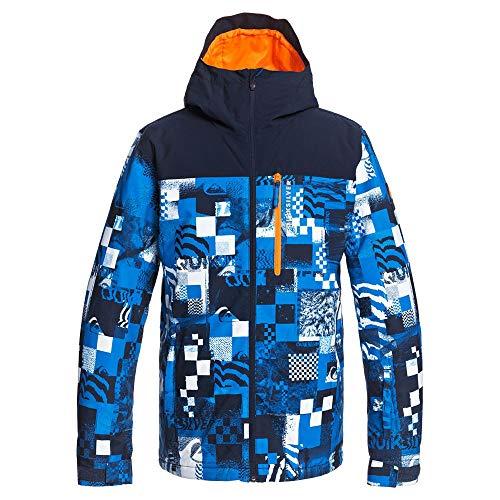 Quiksilver Morton - Chaqueta Para Nieve Para Hombre Chaqueta Para Nieve, Hombre, brilliant blue radpack, L