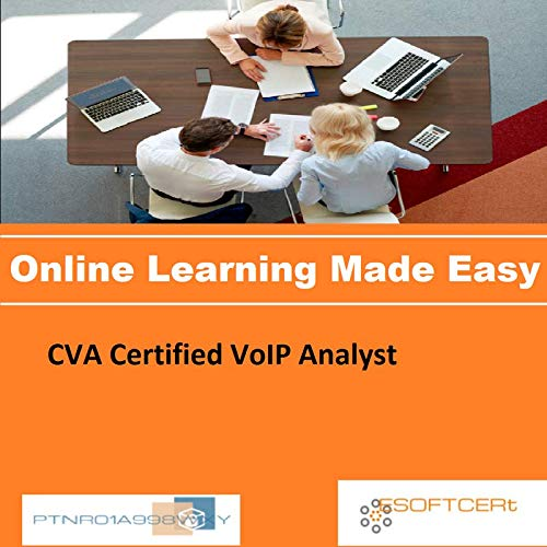 PTNR01A998WXY CVA Certified VoIP Analyst Online Certification Video Learning Made Easy