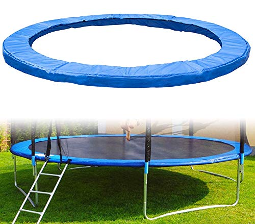 LCAZR Trampoline Edge Cover for Garden Trampolines, UV-resistant Trampoline Net Replacement Net with Zip, Safety Mat for Garden Trampoline, Trampoline Accessories,10FT