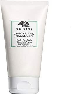 origins checks and balances face wash