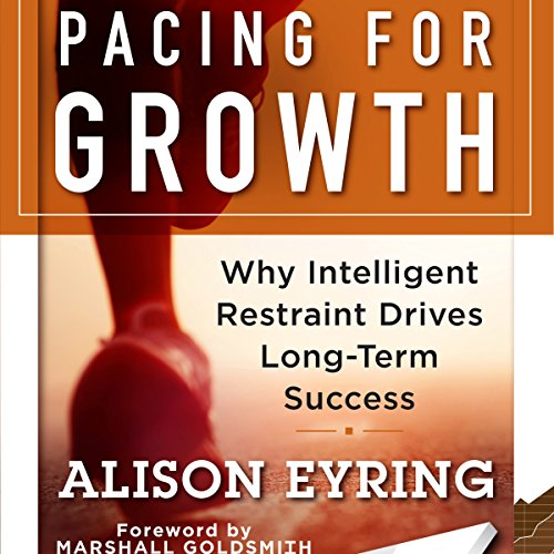 Pacing for Growth audiobook cover art