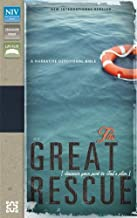 NIV, Great Rescue Bible, Imitation Leather, Blue/Tan: Discover Your Part in God's Plan