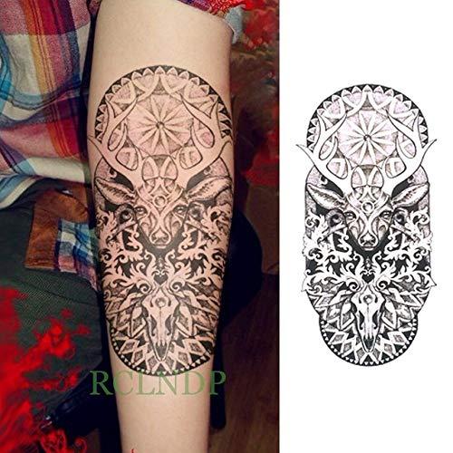 ljmljm 3 Unids Impermeable Etiqueta Engomada del Tatuaje Tótem ...