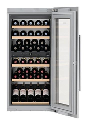 Liebherr ewtdf 2353eingebaut Kombi-Wein-48bottle (S) A–Weinkühler (eingebaut, grau, grau, 6Regalböden, 1Tür (S), silber)