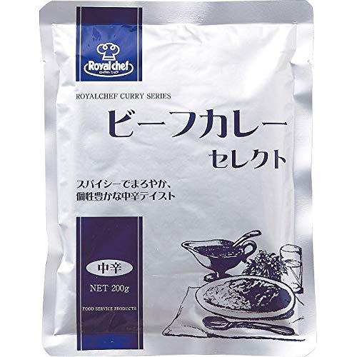 ロイヤルシェフ ビーフカレー(30食) 中辛