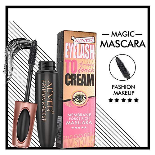 MeterMall 4D Silk Fiber Lash Mascara Waterproof Eyelash Extension Lengthening Mascara