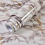 LZYMLG PVC wasserdicht Marmor selbstklebende Tapete Schlafsaal Schlafzimmer DIY Aufkleber Küche Wand Renovierung Aufkleber Öl Grau