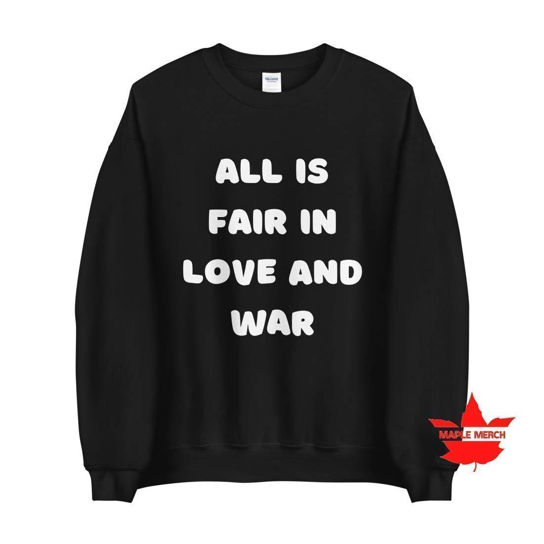 All is Fair Oakland Mall In Love Washington Mall and Sweatshi Bridgerton Crewneck War Sweater