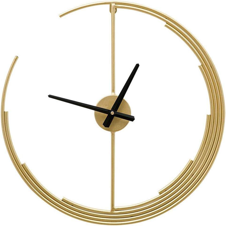Many popular brands Clock Wall Popular brand Art Decorative - Modern Gold Metal Contemporary