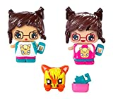 My Mini MixieQ's Series 1 Cat Lover 4 Pack - 3 Figures and Pet
