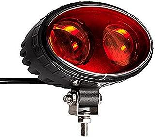 SXMA LED Forklift Safety Light 5.5inch 8W Red LED Work light CREE Chips Spot Warehouse Pedestrian Safe Warning Light (Red)