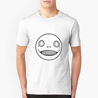 Nier Automata Emil Mask Slim Fit TShirtT shirt Hoodie for Men, Women Unisex Full Size.