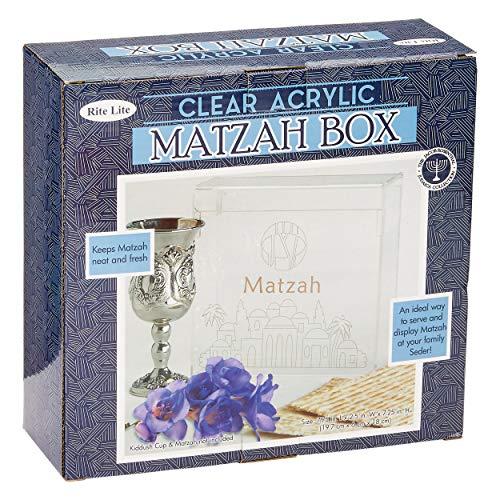 Rite-Lite Ltd. Passover Acrylic Matzah Box