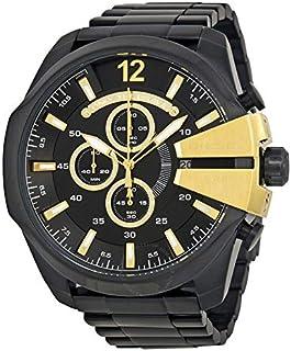 Diesel Black Stainless Steel Black dial Watch for Men's DZ4338