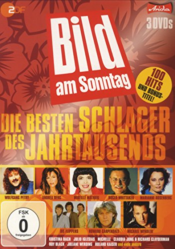 Die besten Schlager des Jahrtausends - Die BamS Leser Hit DVD